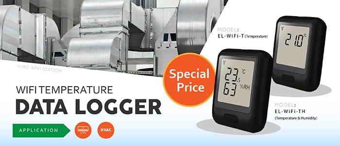 Wifi Temperature Data Logger