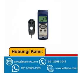 Environmental Meter w/ SD Card Slot for Data Logging