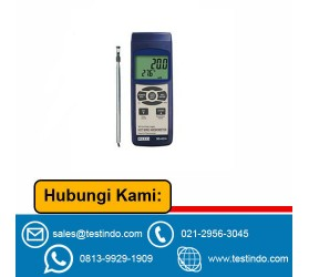 Slim Probe Anemometer w/ SD Card Slot for Data Logging