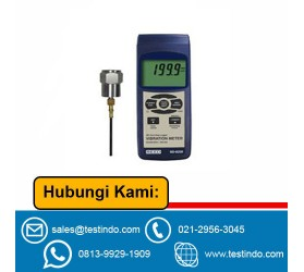 Vibration Meter w/ SD Card Slot for Data Logging